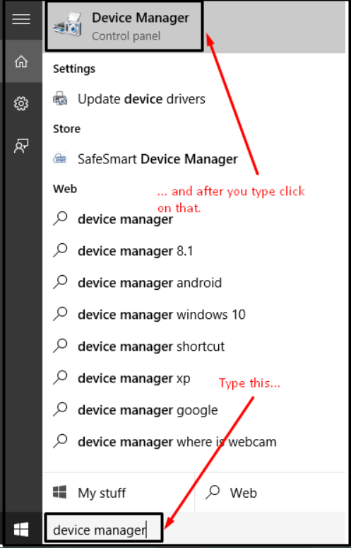 device manager win 10 2019 - mic issues