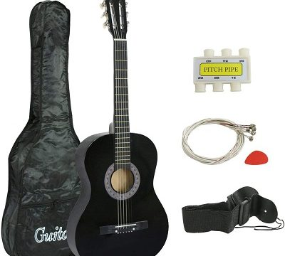 Smartxchoices 38 Acoustic 6 String - best guitars for kids beginners