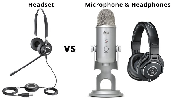 Difference between Headphone, Headsets, & Earphones
